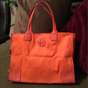 Authentic Tory Burch foldable tote